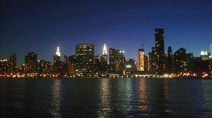 NYC Night Skyline, July 2013