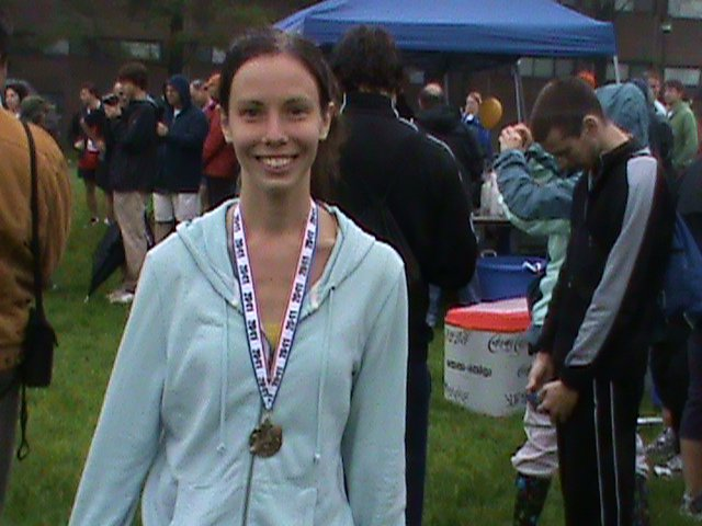 After my first 5K in May 2011.