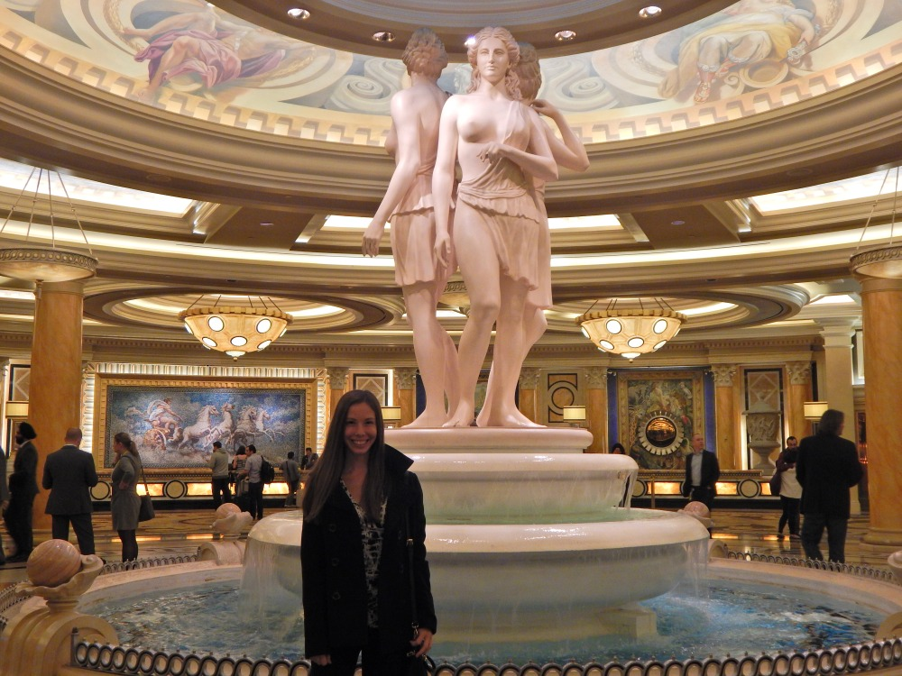 Caesars Lobby Fountain