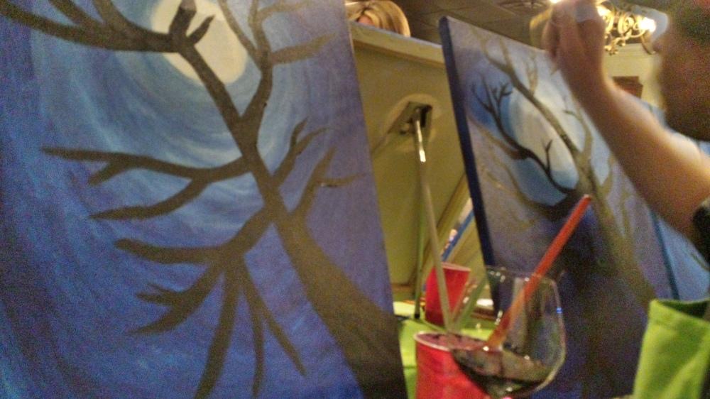 Trees of Paint Nite