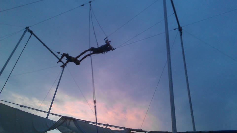 Tim Trapeze August 2013